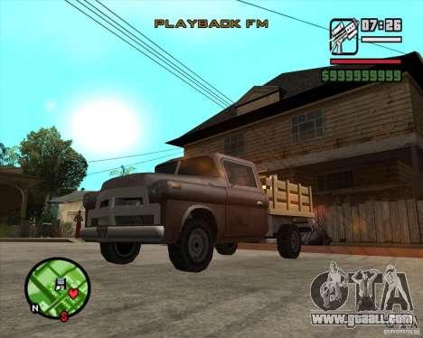 Walton HD for GTA San Andreas back left view