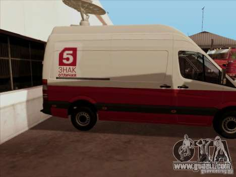 Mercedes-Benz Sprinter 5 Channel for GTA San Andreas right view