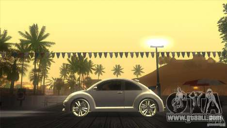 Volkswagen Beetle Tuning for GTA San Andreas left view