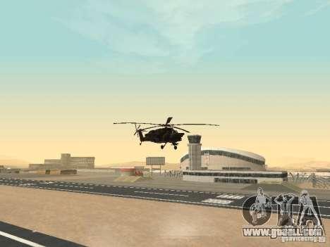 Mi-28 for GTA San Andreas inner view