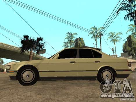 BMW 520i for GTA San Andreas left view