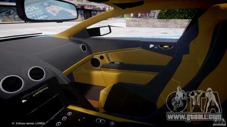 Lamborghini Reventon Polizia Italiana for GTA 4 inner view