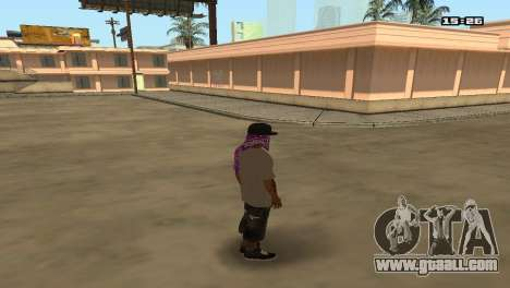Skin Pack Ballas for GTA San Andreas second screenshot