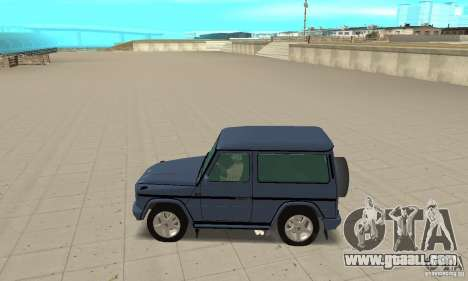 Mercedes-Benz G500 1999 Short [with kangoo v3] for GTA San Andreas left view