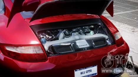 Posrche 911 GT2 for GTA 4 back view