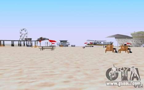 Reality Beach v2 for GTA San Andreas second screenshot
