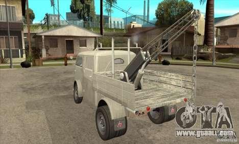 Tempo Matador 1952 Towtruck version 1.0 for GTA San Andreas back left view