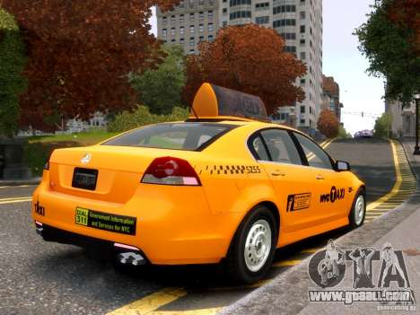 Holden NYC Taxi for GTA 4 right view
