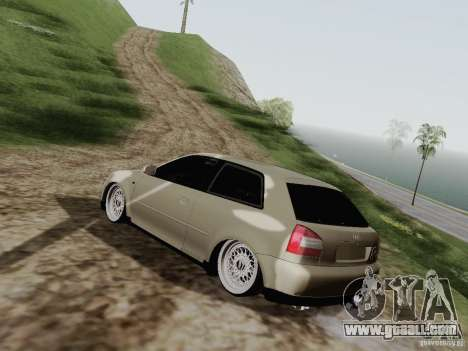 Audi A3 for GTA San Andreas left view