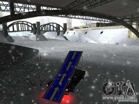 Pickup-Springboard for GTA San Andreas left view