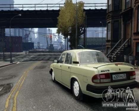 Gaz 3110 Volga for GTA 4 inner view