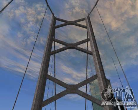 New textures of three bridges in SF for GTA San Andreas second screenshot