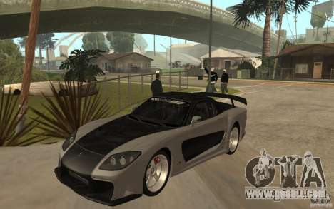 Mazda RX 7 VeilSide Fortune v.2.0 for GTA San Andreas