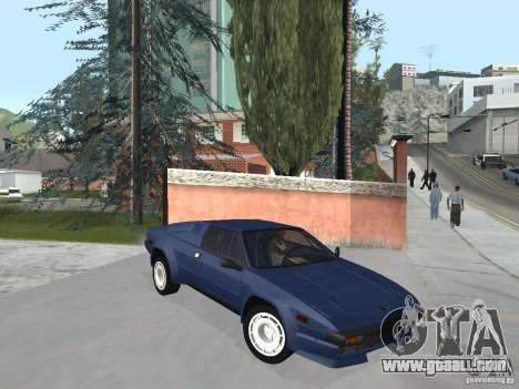 Lamborghini Jalpa P350 1984 v1.1 for GTA San Andreas right view