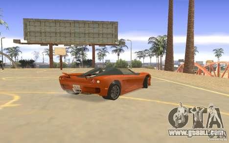 Veloche Car for GTA San Andreas right view