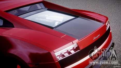 Lamborghini Gallardo LP570-4 Superleggera 2011 for GTA 4 bottom view