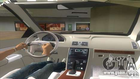 Volvo XC90 for GTA Vice City back left view