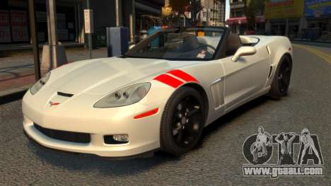 Chevrolet Corvette C6 2010 Convertible v2.0 for GTA 4