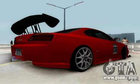 Nissan Silvia S15 Tunable for GTA San Andreas wheels