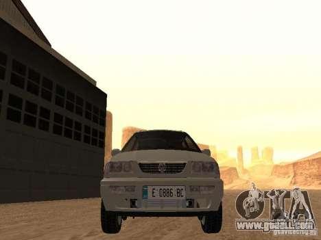 Volkswagen Passat B4 for GTA San Andreas inner view