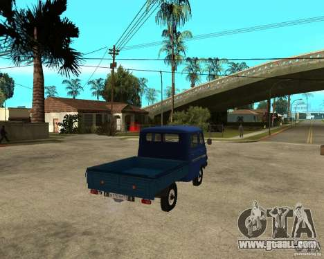 UAZ 39094 for GTA San Andreas back left view