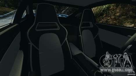 Porsche 997 GT2 for GTA 4 inner view
