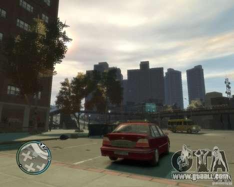 Daewoo Nexia DOHC for GTA 4 back left view