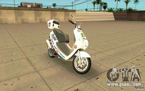 Suzuki Addres for GTA San Andreas