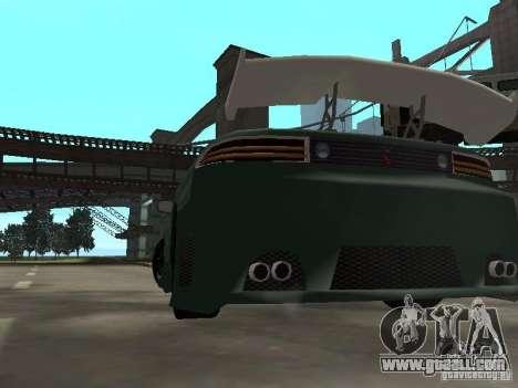 Mitsubishi 3000GT for GTA San Andreas bottom view