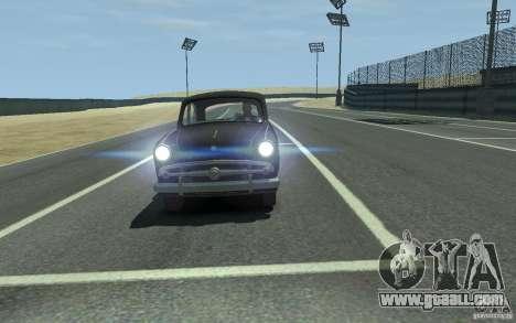 Moskvitch 407 v2.0 for GTA 4 back left view