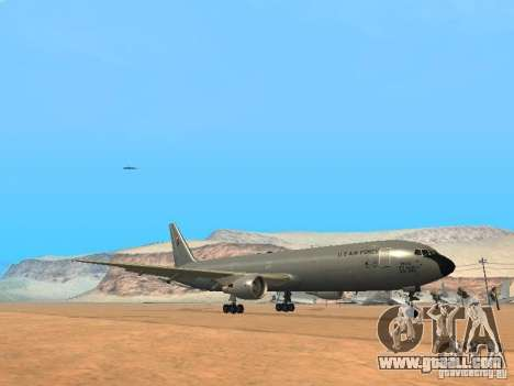 Boeing KC767 U.S Air Force for GTA San Andreas left view