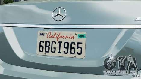 Mercedes-Benz S65 AMG 2012 v1.0 for GTA 4