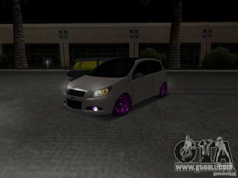 Chevrolet Aveo Tuning for GTA San Andreas right view
