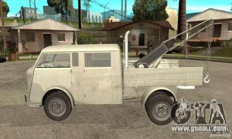 Tempo Matador 1952 Towtruck version 1.0 for GTA San Andreas left view