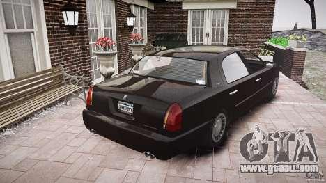 Washington FBI Car for GTA 4 side view