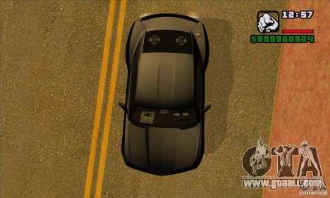 Chevrolet Camaro Concept Z06 2007 for GTA San Andreas side view