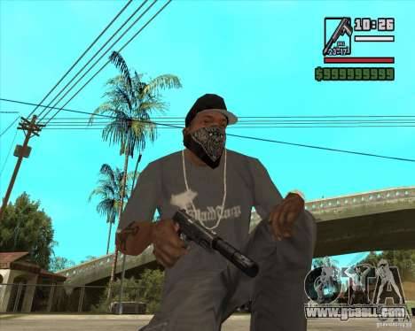 Millenias Weapon Pack for GTA San Andreas