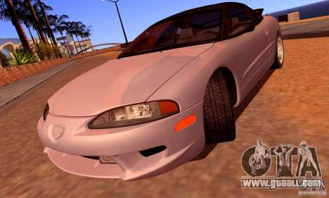 Eagle Talon TSi AWD 1998 for GTA San Andreas upper view