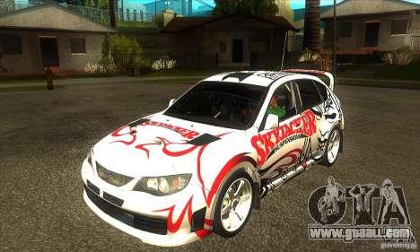 Subaru Impreza WRX STi Skyjacker of DiRT 2 for GTA San Andreas