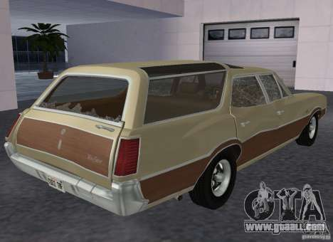 Oldsmobile Vista Cruiser 1972 for GTA San Andreas right view