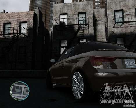 Audi A1 v.2.0 for GTA 4 back view