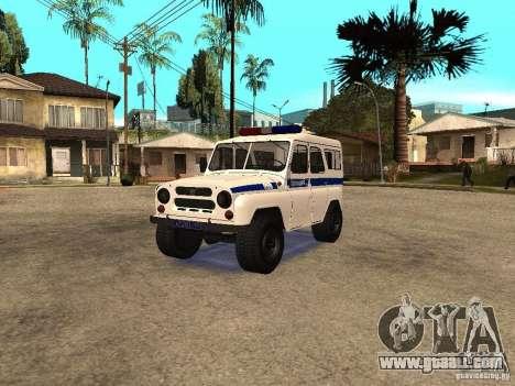 UAZ Police for GTA San Andreas