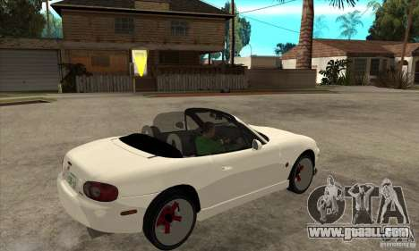 Mazda MX-5 JDM Convertible for GTA San Andreas right view