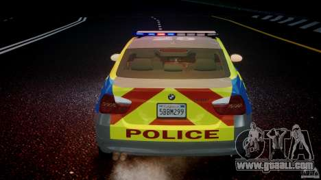 BMW 350i Indonesian Police Car [ELS] for GTA 4 engine