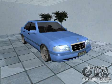 Mercedes Benz C220 for GTA San Andreas left view