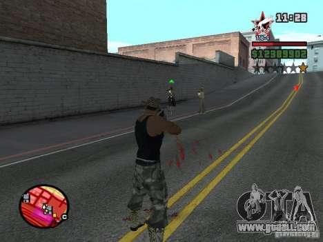 San Fierro and Los Santos Gang Zone for GTA San Andreas forth screenshot