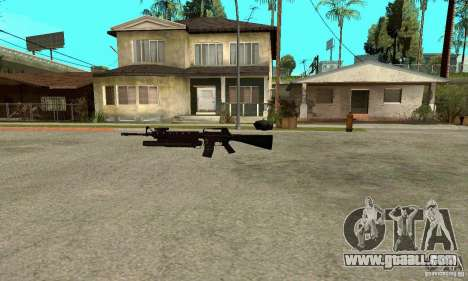 M16A4 + M203 for GTA San Andreas second screenshot