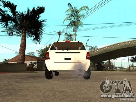 Jeep Grand Cherokee 99 for GTA San Andreas back left view