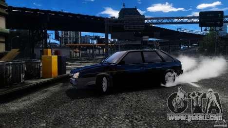 VAZ 2109 Drift Turbo for GTA 4 upper view
