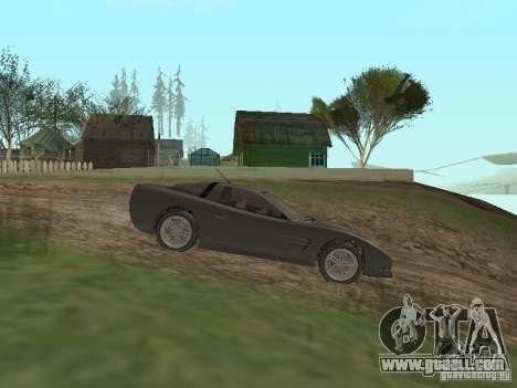 Cheetah from GTA 4 for GTA San Andreas left view